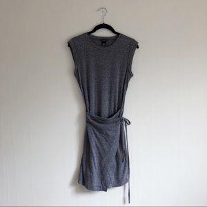 NWT club monaco knit faux wrap dress